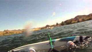 preview picture of video 'Wakeboarding Parker Arizona memorial day 2013'