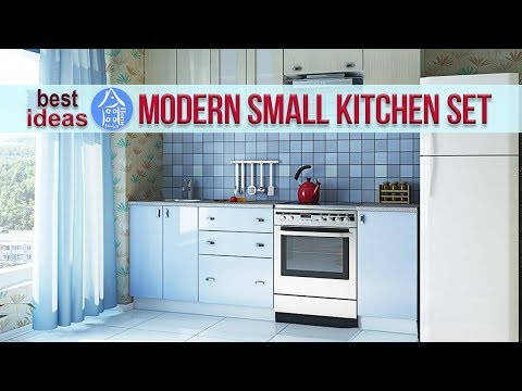 💗 Compact Kitchen Cabinets | Modern Kitchen Set for Small Space