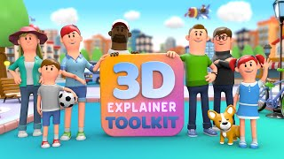 10574I will make 2d,3d character animation video, explainer video for your business
