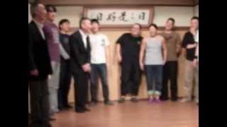 2012年10月21日日第14回ダーリン寄席エンディングお江戸上野広小路亭