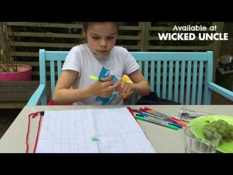 Youtube Video for Doodle PENCILCASE - Draw & Wash out