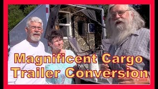 Magnificent Featherlight Car Hauler Tiny Home on Wheels Conversion