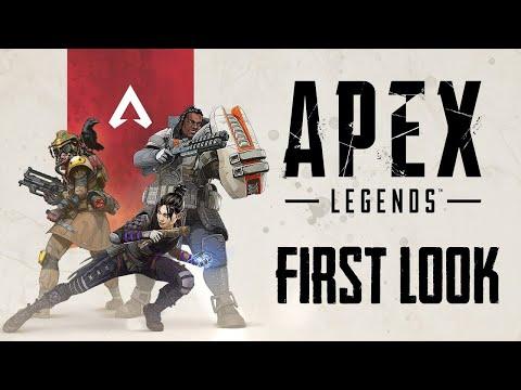 Apex Legends First Look | Better than PUBG?