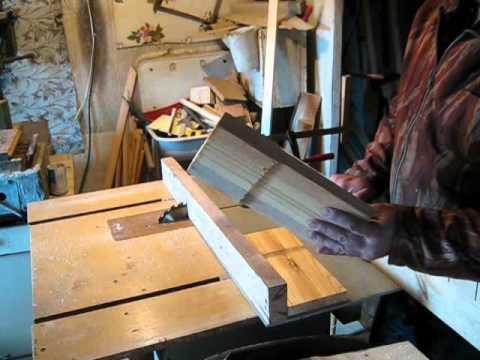 Боковушки рамок, изготовление