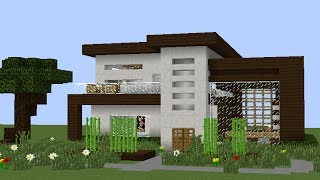 Como hacer una casa en minecraft videos for Casa moderna omarzcraft