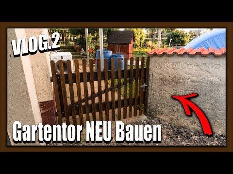 VLOG 2 | Gartentor NEU  Bauen  ❌PFperformance❌