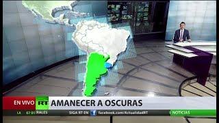 Un apagón masivo deja a Argentina y Uruguay sin luz