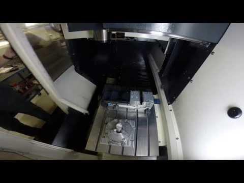 RMG Keychain CNC Machining v2