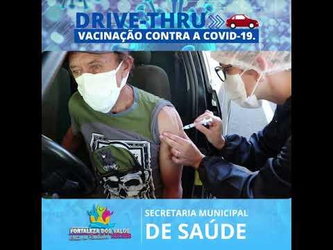 Drive-trhu da Vacinação