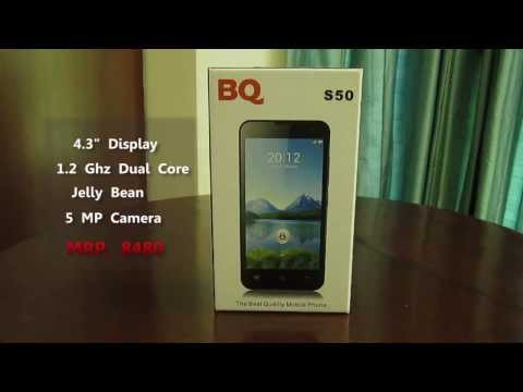 Unboxing BQ S50