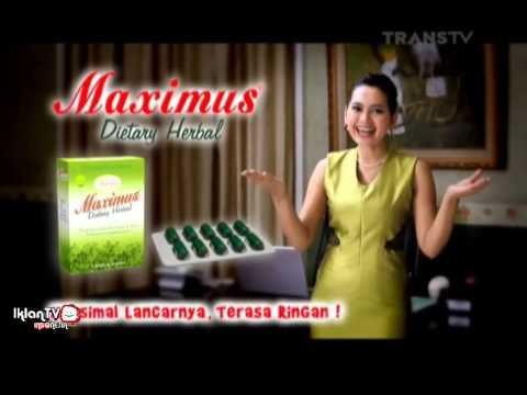 Video Iklan Maximus Dietary Herbal