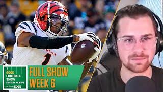 NFL Week 6 lineup advice + live Q&A | A Good Football Show: Fantasy Kickoff (10/17/21)