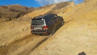 Ураганим на Lexus LX470 в песчаном карьере!
