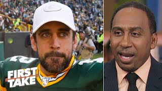 Aaron Rodgers and the Packers are the biggest threat to the Patriots - Stephen A. | First Take
