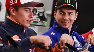Marquez, Rossi And Lorenzo Talk Silverstone