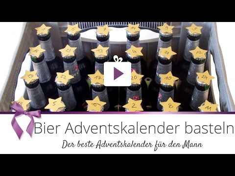 [DIY] Bier Adventskalender basteln   DANATO