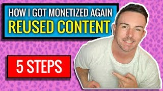 How I Got Monetized Again After Reused Content