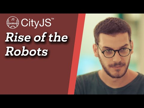 Image thumbnail for talk Rise of the Robots