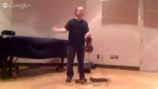 Christian Howes presents Improvisation for Beginning to Intermediate String Players