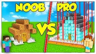 LA CASA PIÙ SICURA NOOB CONTRO CASA PRO! - Minecraft ITA