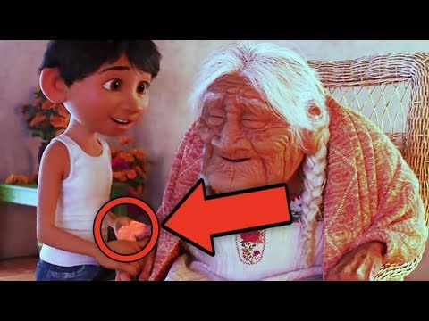 COCO Pixar Easter Eggs & Story Analysis