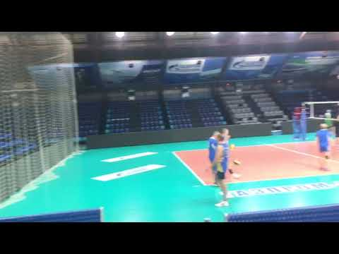 Светодиодный экран для волейбольной  площадки, г. Ханты-Мансийск
