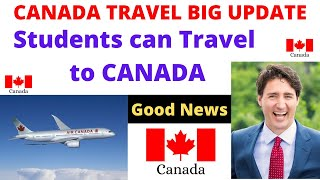 STUDENTS Can Travel To CANADA In September Intake 2020! Dont Worry Students! Canada Update !Flights