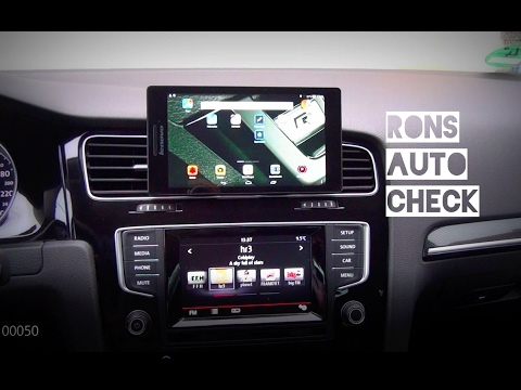 VW Golf 7: Beste Navi und Smartphone Halterung! Lüftungsschlitze von 5 bis 10 Zoll Nur aufstecken