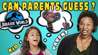 Can Parents Guess Movies Described By Kids? #6 (React)