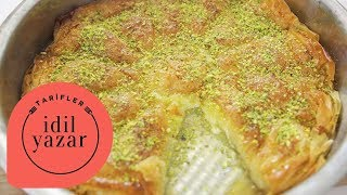 peynirli katmer tatlısı tarifi  idil tatari  yemek tarifleri