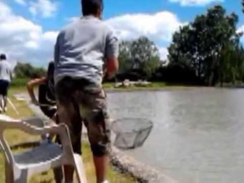 Gli oggetti per pescare di video