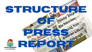 STRUCTURE OF PRESS REPORT