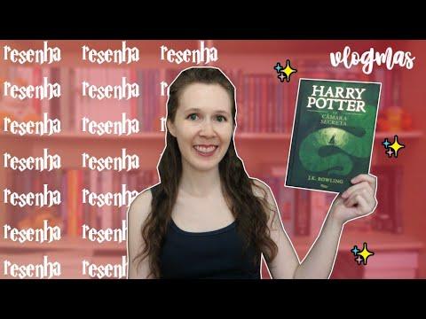 VLOGMAS #28 Resenha Harry Potter e a Câmara Secreta | Leituras de Deni