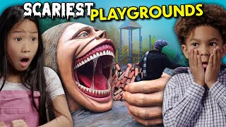 Kids React To The Scariest Playgrounds