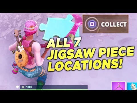 search jigsaw puzzle pieces under bridges and in caves all 7 locations fortnite - carte au tresor fortnite saison 8 paradise