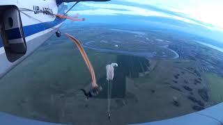 Прыжки с парашютом в Петропавловске 2018