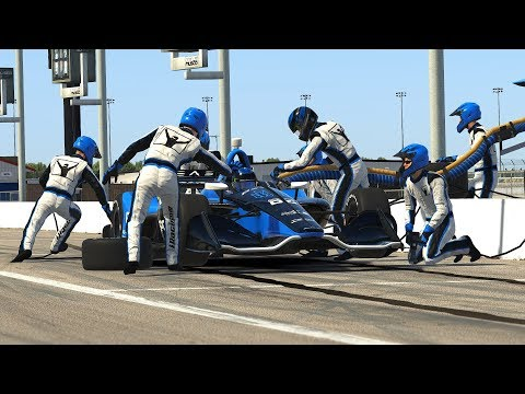 IndyCar Pit Crew Animations - Coming in the 2019 Season 1 Holiday Patch