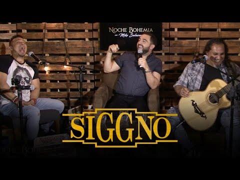 Grupo SIGGNO en Noche Bohemia con Mike Salazar