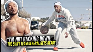 The SHIFT TEAM GENERAL Trevor Dunbar Gets READY For 1v1 vs Aquille Carr! Day In The Life