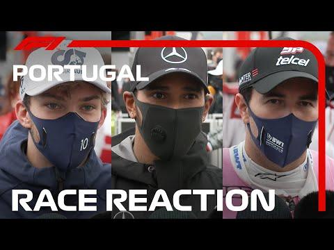 レース直後に聞いたドライバーインタビュー動画。第12戦ポルトガルGP(ポルトガル)