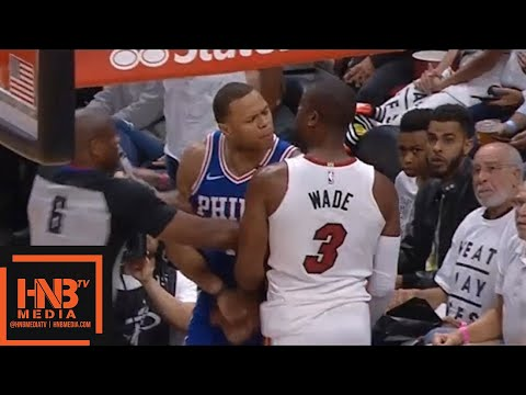 Philadelphia Sixers vs Miami Heat 1st Half Highlights / Game 3 / 2018 NBA Playoffs