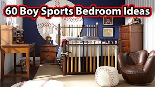 60 Cool Sports Themed Boys Bedrooms - CREATIVE DESIGN IDEAS
