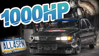 Fastest Galant VR-4 on the Planet! 1000HP 4G63 SCREAMS 10,000RPM (46PSI OF BOOST) by  That Racing Channel