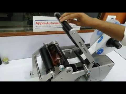 Semi Automatic Bottle Labeling Machines