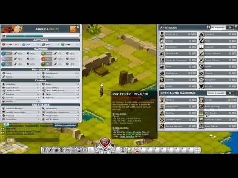 comment monter ses sorts wakfu
