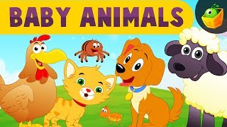 Baby Animals Songs | Famous Five Little Rhymes |+ more Bedtime Cartoon Nursery Rhymes for Kids