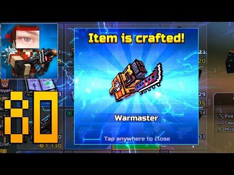 Pixel Gun 3D - Gameplay Walkthrough Part 80 - Warmaster