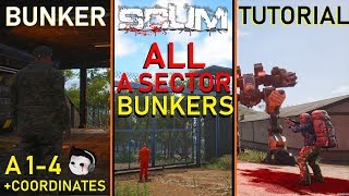 Complete Guide To SCUM's Bunkers (Part 1)