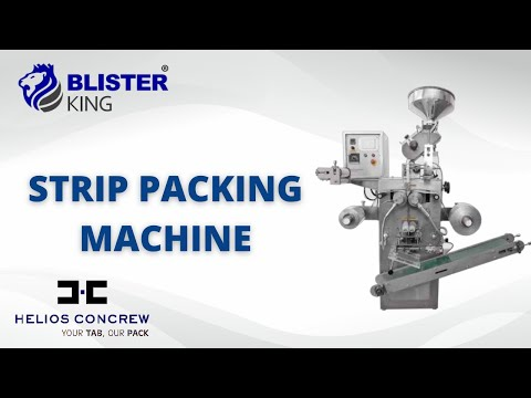 8 Track Strip Packing Machine
