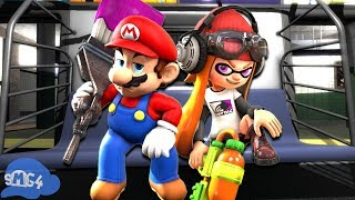 SMG4: If Mario Was In... Splatoon 2